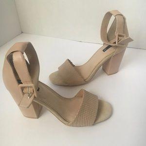 H&M Block Heel Sandals
